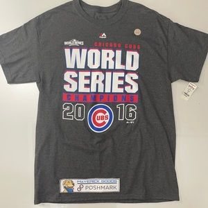 Chicago Cubs 2016 World Series Champions T-Shirt